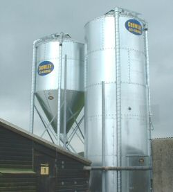 Poultry Feed Bins - Crowley Engineering Ireland