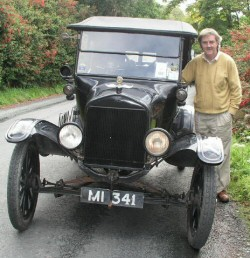 Tim Crowley And His Model T Ford - Crowley Engineering Ireland